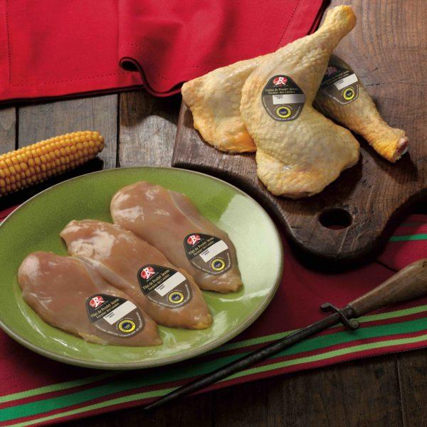 découpe poulet 81 jours