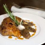 Cuisse de poulet à l'oignon