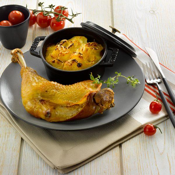Cuisse de poulet confit