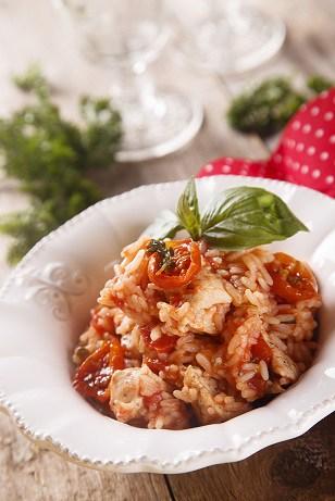 recette de risotto au confit de canard
