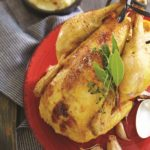 _poulet fermier au beurre de piment d'espelette-réduit