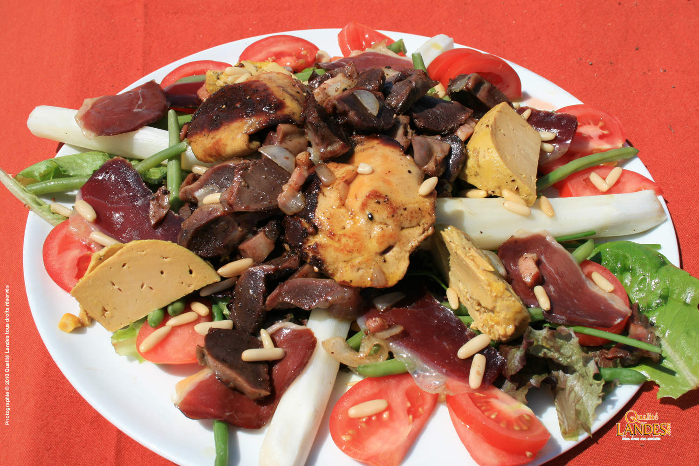 recette salade landaise